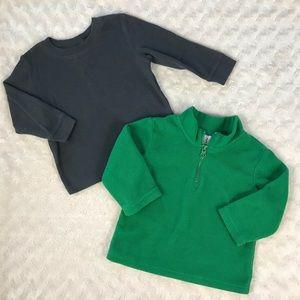 Circo Baby Boy Bundle Shirt Fleece Pullover 12M
